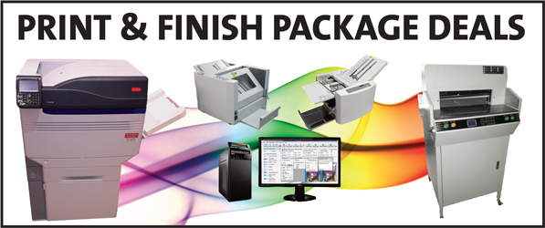 Digital Press plus finishing packages SRA3 printer packages for less than the rest