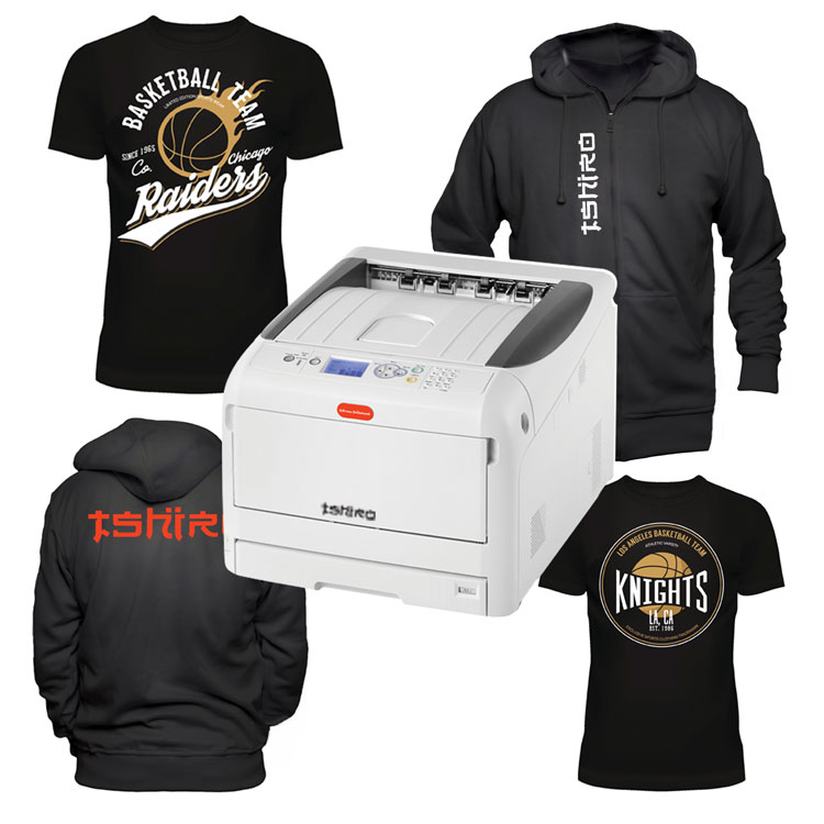TSHIRO+ t-shirt and textile transfer printer