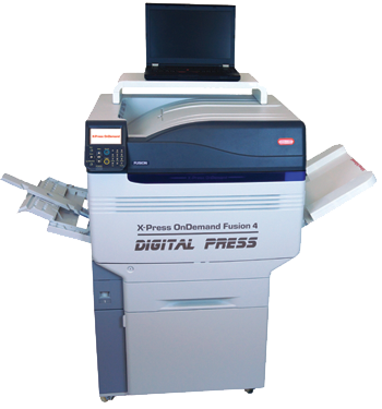 Digital printing package