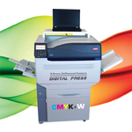 Fusion5 5 colour digital Press